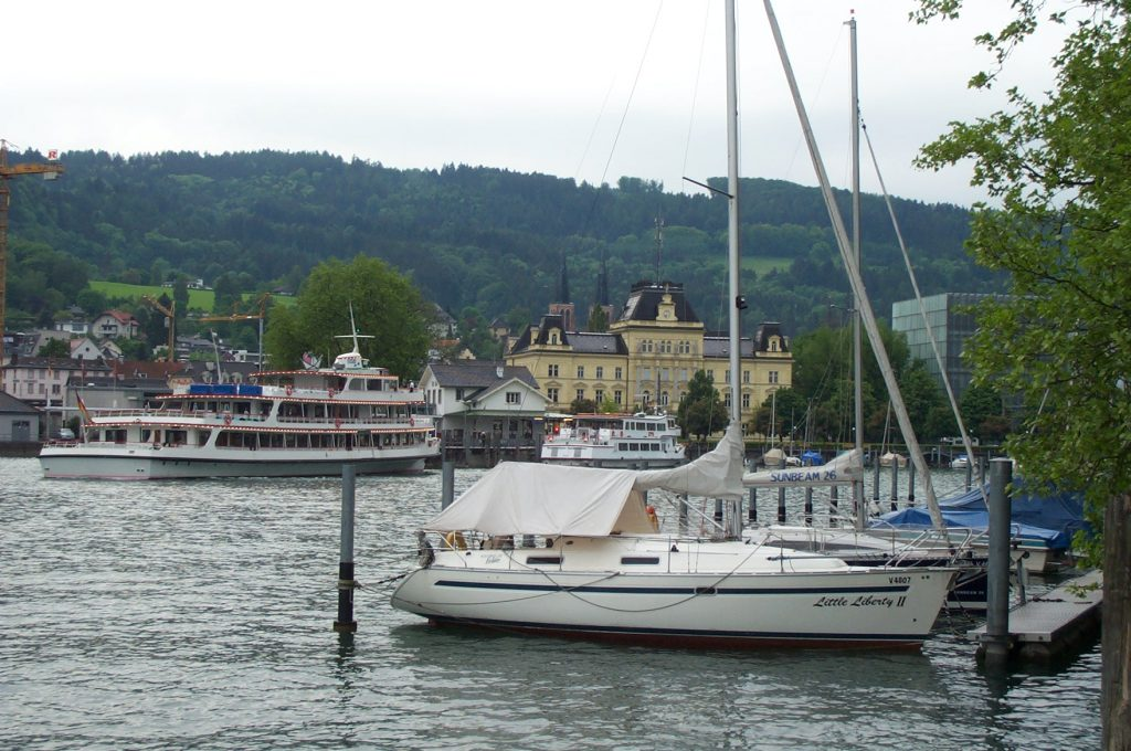 Bregenz Wharf and Post Office