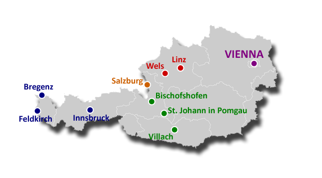 Map Austria copy