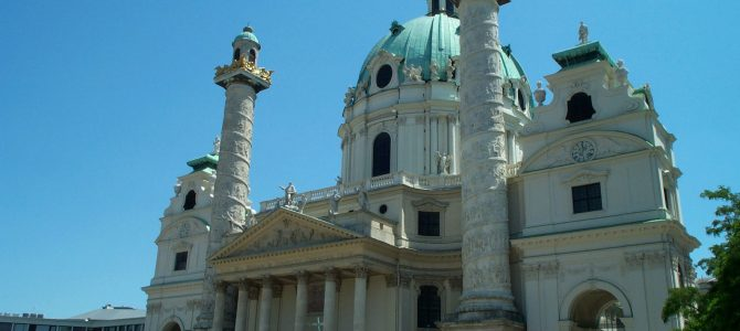 Vienna, Austria — Part 4 (More Photos of Viennese Buildings)