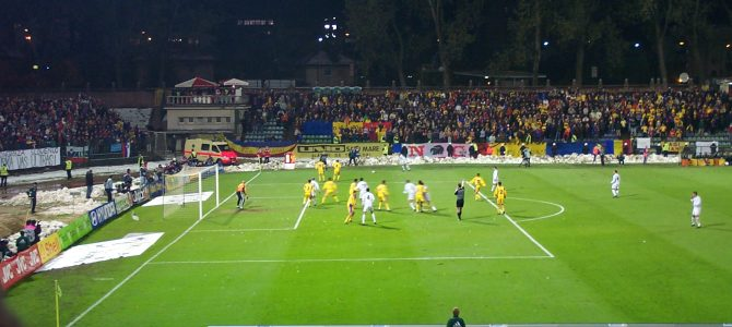 World Cup 2002 Qualifying Playoff — Slovenia vs. Romania, played in Ljubljana