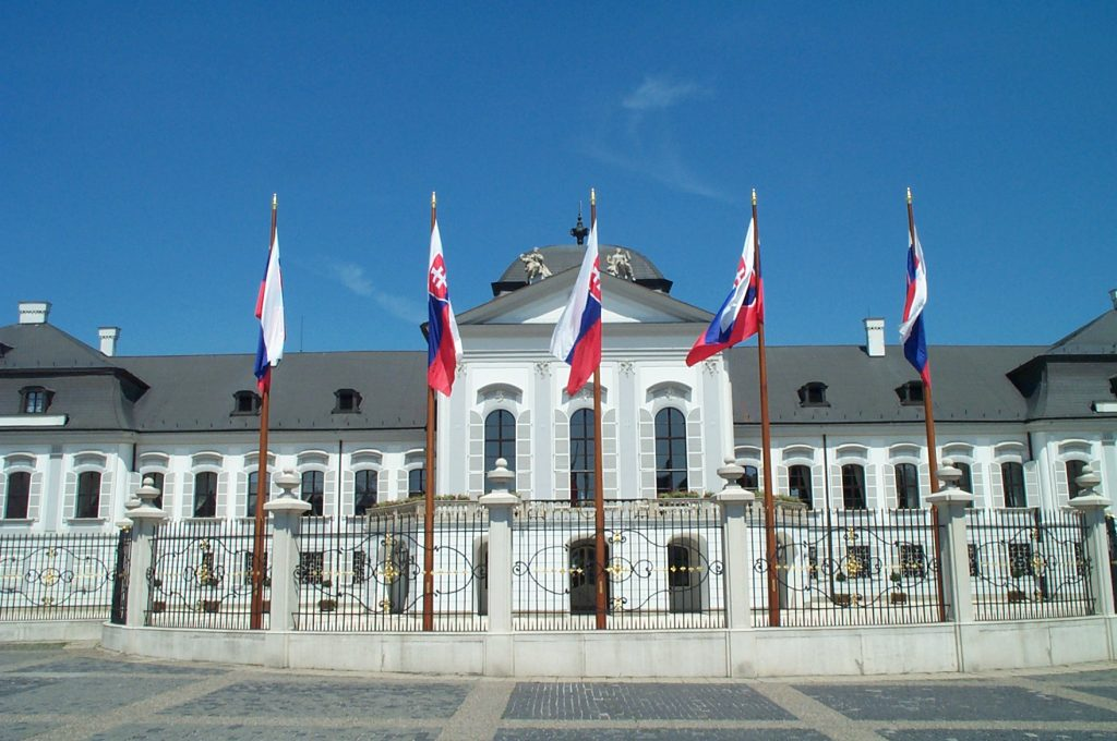Front of the Presidential Residence