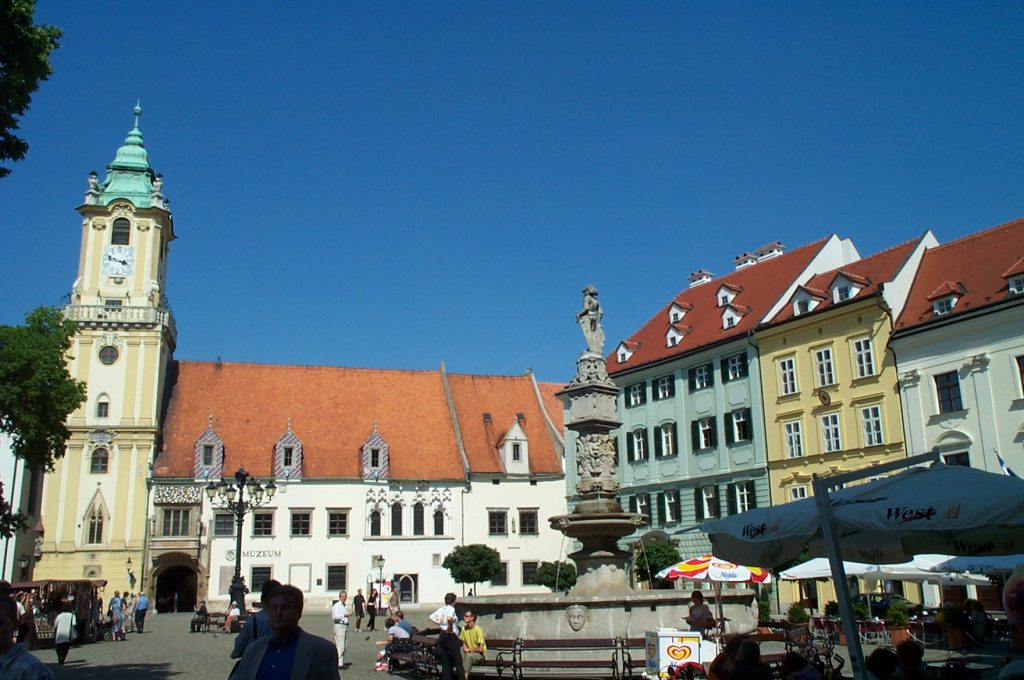 Old Town Hall and the Main Square