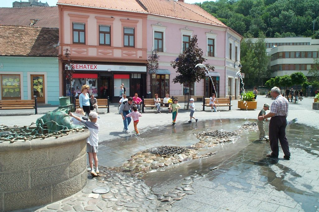 Fountain in the Southern Square