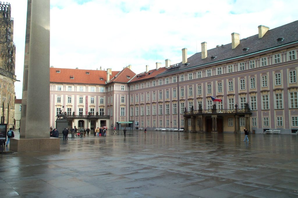 Inner Square of the Hradčany