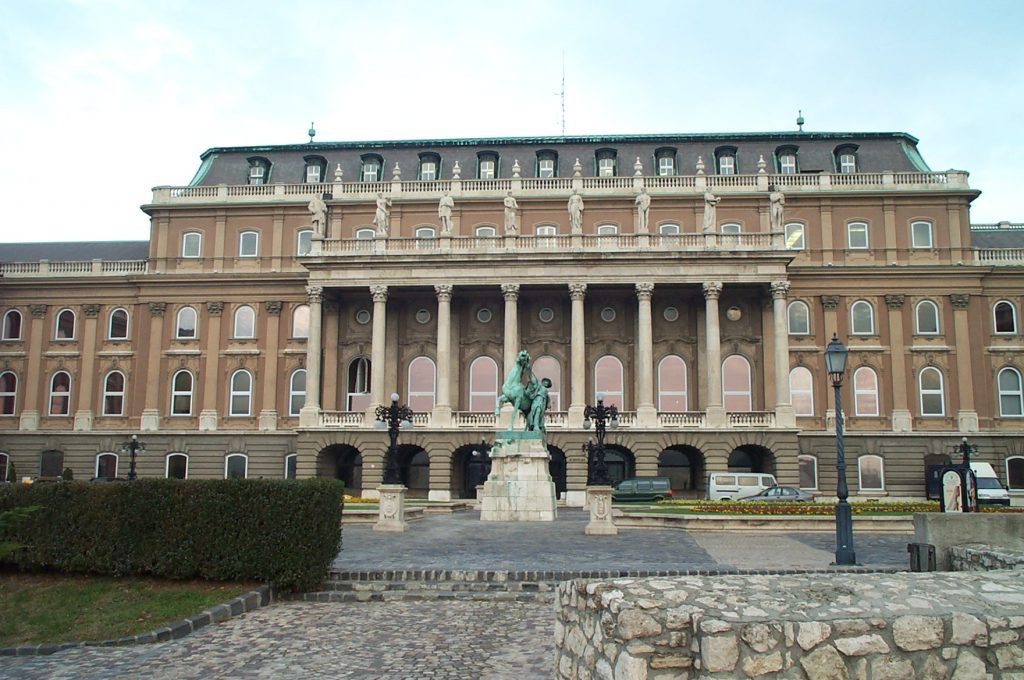 Rear of Buda Castle