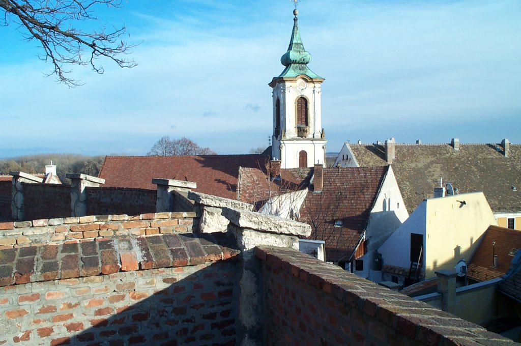 Szentendre -- View from the Church Wall