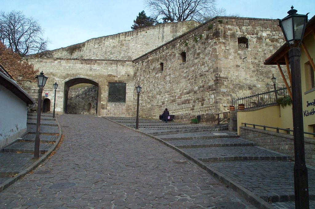 Entrance to Eger Castle