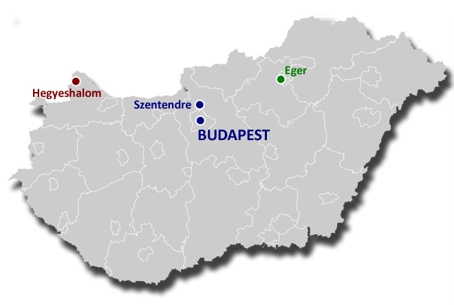 Map Hungary copy