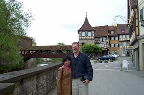 Us at Schwaebisch Hall in Germany